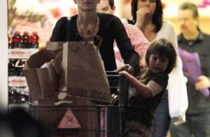 Sharon Stone : Son fils Quinn ne tient pas en place !
