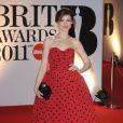 Sophie Ellis-Bextor lors des Brits Awards le 15 février 2011
