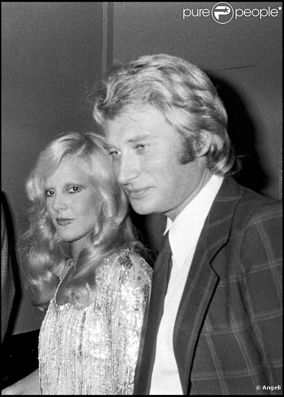johnny hallyday et sylvie vartan dans les ann es 1970. Black Bedroom Furniture Sets. Home Design Ideas