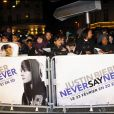 Justin Biber a déchaîné les foules à Paris, le 17 férvier 2011.