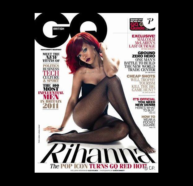 Rihanna en couverture de GQ