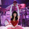 Katy Perry en concert à Milan, le 23 février 2011