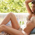 Alyssa Miller pour la collection 2011 de la marque de lingerie Intimissimi.