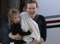 Nicole Kidman : En famille avec son mari et leurs deux fillettes, le bonheur !