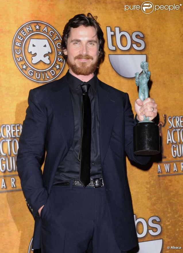 Christian Bale nominé dans la catégorie du meilleur acteur dans un second rôle aux Oscars 2011.