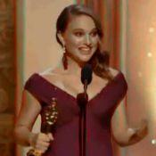 Oscars 2011 : Natalie Portman et son discours de reine enceinte et amoureuse !