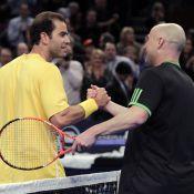 Pete Sampras/Andre Agassi : Un an après le clash, retrouvailles bon enfant !