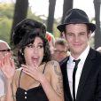 Amy Winehouse et son ex-mari Blake Fielder-Civil, à Los Angeles, en juin 2007.