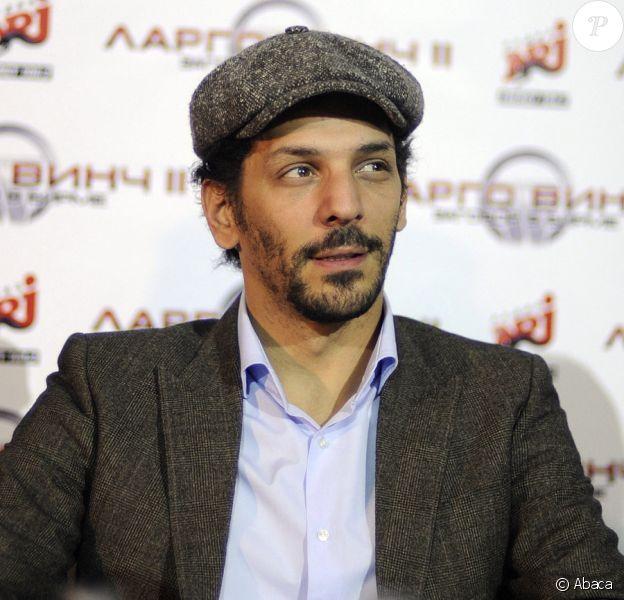 Tomer Sisley lors de la conférence de presse à Moscou de Largo Winch II le 2 mars 2011