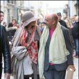 Blake Lively et le créateur Christian Louboutin (Paris, 5 mars 2011)