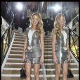 Soirée privée Chanel organisée en l'honneur de Blake Lively, radieuse, rue Cambon le samedi 5 mars 2011