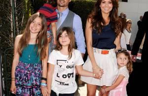 David Charvet et Brooke Burke posent avec tous leurs adorables enfants !
