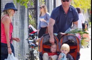 Naomi Watts et Liev Schreiber : leurs adorables bambins, accros à la routine !