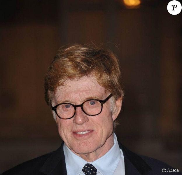 """Le séduisant Robert Redford, ici décoré à l'Elysée le 14 octobre 2010, va créer un """"Festival Sundance London"""" dès avril 2012."""