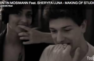 Quentin Mosimann/Sheryfa Luna: Grande complicité et gros délires pour leur duo !