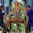 Britney Spears au Bill Graham Civic Auditorium de San Francisco le 27 mars 2011. Un show enregistré par ABC's Good Morning America qu'il le diffusera mardi 29 mars 2011