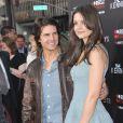 Katie Holmes et Tom Cruise à la première mondiale de la série The Kennedys, le 28 mars 2011, à Beverly Hills (Los Angeles, USA).
