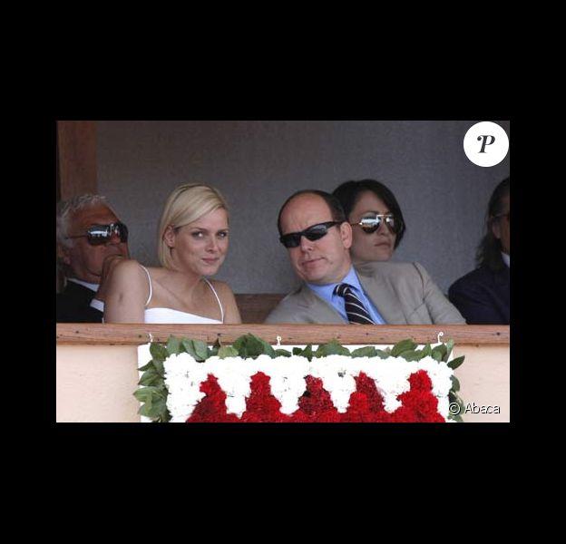 Prince Albert de Monaco et Charlène Wittstock