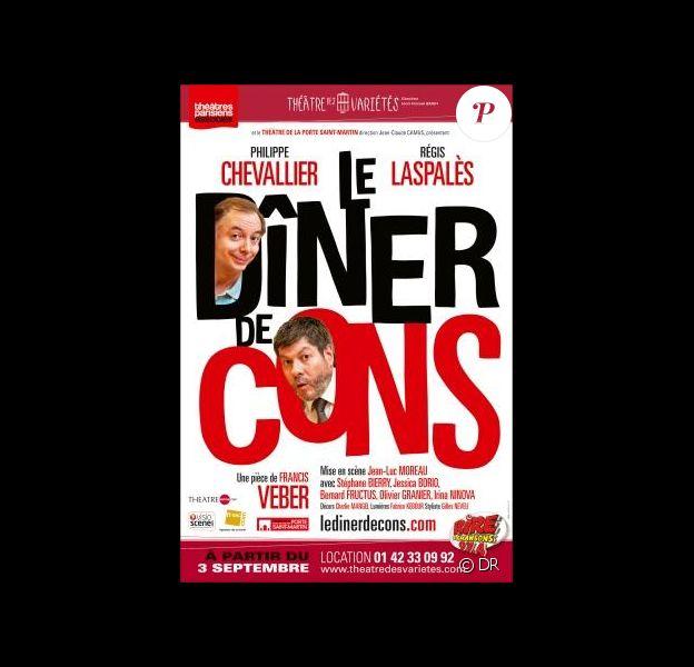 Chevallier et Laspalès triomphent actuellement au Théâtre des Variétés avec Le Dîner de Cons.