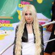 Taylor Momsen lors de la grande soirée des 24e Kid's Choice Awards, organisée par la chaîne de télévision Nickélodéon dans l'enceinte du Gallen Center de Los Angeles, le 2 avril 2011.