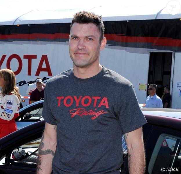 Brian Austin Green lors de la course Toyota des célébrités, à Long Beach le 5 avril 2011