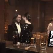 Bob Sinclar embrasse la belle Caterina Murino !