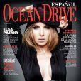 Elsa Pataky en couverture d'Ocean Drive
