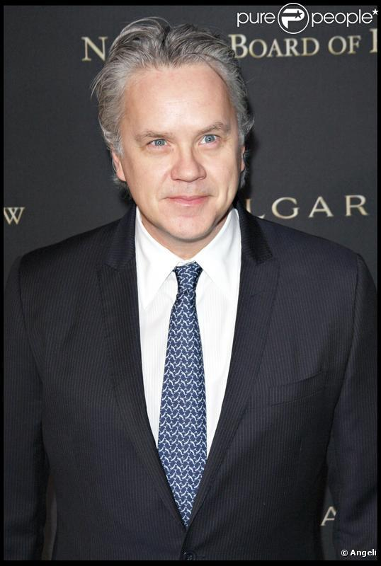 Tim Robbins en janvier 2009à New York