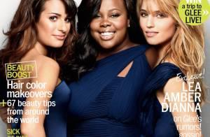 Glee : Les trois divas de la série en mode très glamour !