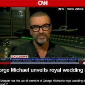 George Michael, dévoué corps et âme à William et Kate, reprend Stevie Wonder !