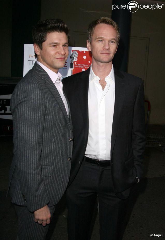 Neil Patrick Harris et son compagnon David Burtka, en décembre 2010.