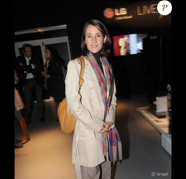 Alexia Laroche Joubert lors d'une soirée LG en octobre 2009