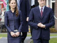 Le prince William et Kate Middleton sur la tombe de Lady Diana...