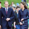 Kate Middleton et son fiancé le prince William
