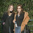 Marie-France Pisier et sa fille Iris en 2006 à Roland-Garros