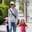 Marcia Cross et ses filles Eden et Savannah à Los Angeles le 17 avril 2011