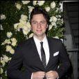 Zach Braff en mode tenue de soirée pour assister au dîner Chanel organisé à New York le 25 avril 2011