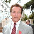 Arnold Schwarzenegger - ici à Cannes, le 4 avril 2011, où il a été fait Chevalier dans l'Ordre de la Légion d'Honneur -, fera son grand retour au cinéma dans  Terminator 5 .