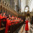 Les choeurs sont prêts à résonner dans Westminster pour le mariage de William et Kate, le 29 avril 2011...
