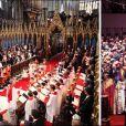 A 30 ans d'intervalle, rapprochements visuels entre deux mariages fondamentalement différents... et connectés par la regrettée princesse Diana. En juillet 1981, elle épousait le prince Charles e la cathédrale Saint-Paul. Le 29 avril 2011, William, le fruit de leur mariage, passait l'alliance au doigt de Catherine Middleton...