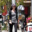 Megan Fox et son mari Brian Austin Green se sont octroyés une petite pause gourmande dans les rues de Los Angeles