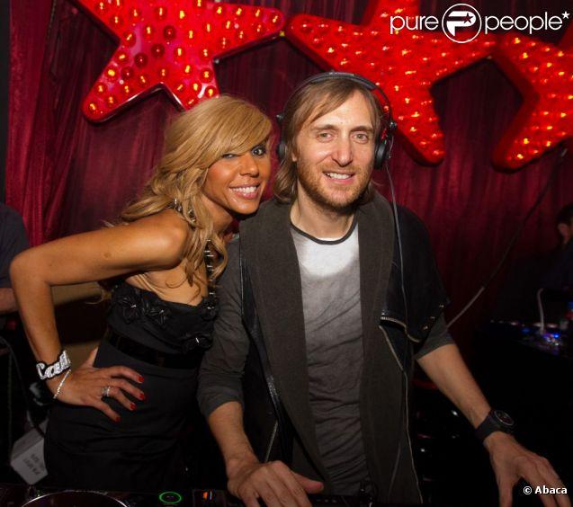 David Guetta et sa femme Cathy Guetta à Las Vegas le 26 mars 2011