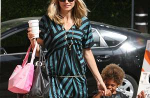 PHOTOS : Heidi Klum, une maman au... top !