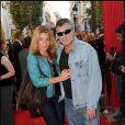 Jean-Marie Bigard et sa compagne Lola Marois, lors de l'avant-première du film  Ces amours-là , en septembre 2009 à Paris.