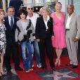 Sharon Stone, Tony Danza et de nombreux artistes ont salué la carrière de Jane Morgan sur le Walk of Fame à Hollywood, le 6 mai 2011