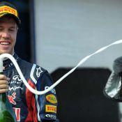 Sebastian Vettel : Le champion du monde de F1 interdit de champagne !