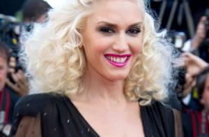 Quand Gwen Stefani travaille, les trois hommes de sa vie s'éclatent !