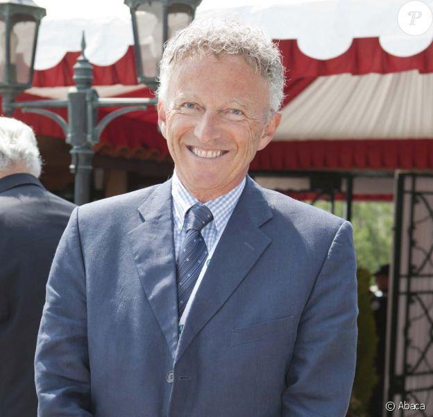 Nelson Monfort, à Monte Carlo, le 17 avril 2011.
