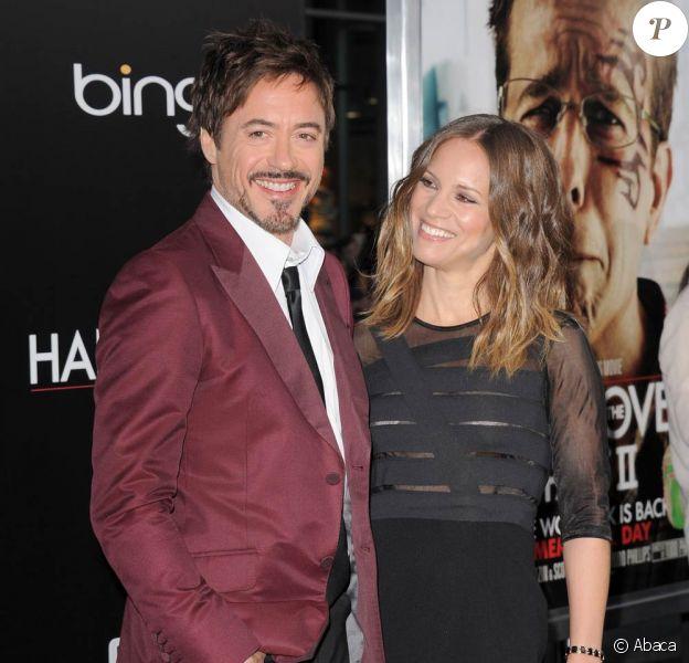 Robert Downey Jr. et sa femme Susan à l'occasion de l'avant-première de Very Bad Trip 2, au Grauman's Chinese Theatre de Los Angeles, le 19 mai 2011.