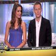 Matthieu Delormeau et Jeny Priez dans Les Anges de la télé-réalité 2 : Miami Dreams sur NRJ 12